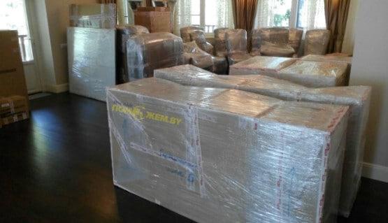 упаковка мебели, коробки для переезда